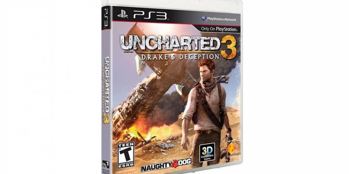 Uncharted 3 ya está listo, y llegará con la beta de Starhawk