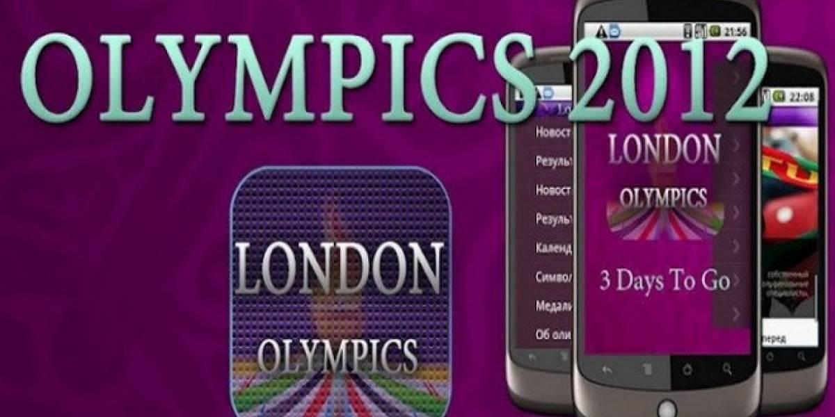 Sigue los Juegos Olímpicos 2012 en tu móvil