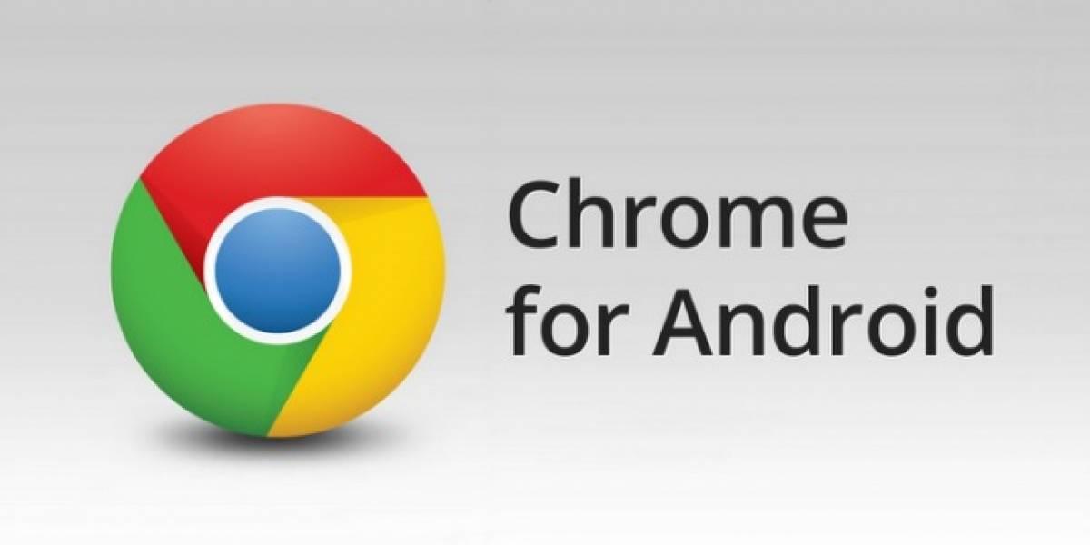 Chrome para Android dejó el beta, ya disponible para equipos basados en ICS o superior