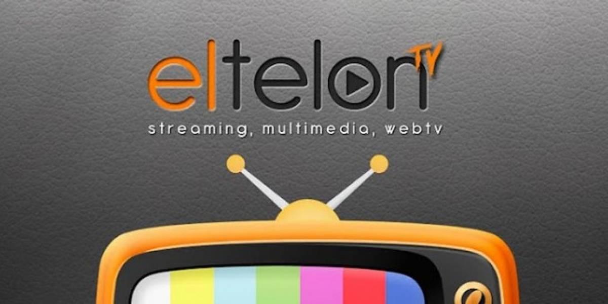 Chile: ElTelon.com, una aplicación para ver canales de TV en Android y iOS