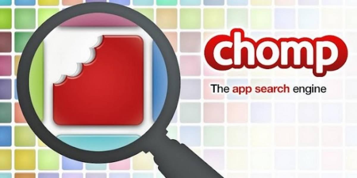 Apple adquiere Chomp, un buscador de aplicaciones para iOS y Android