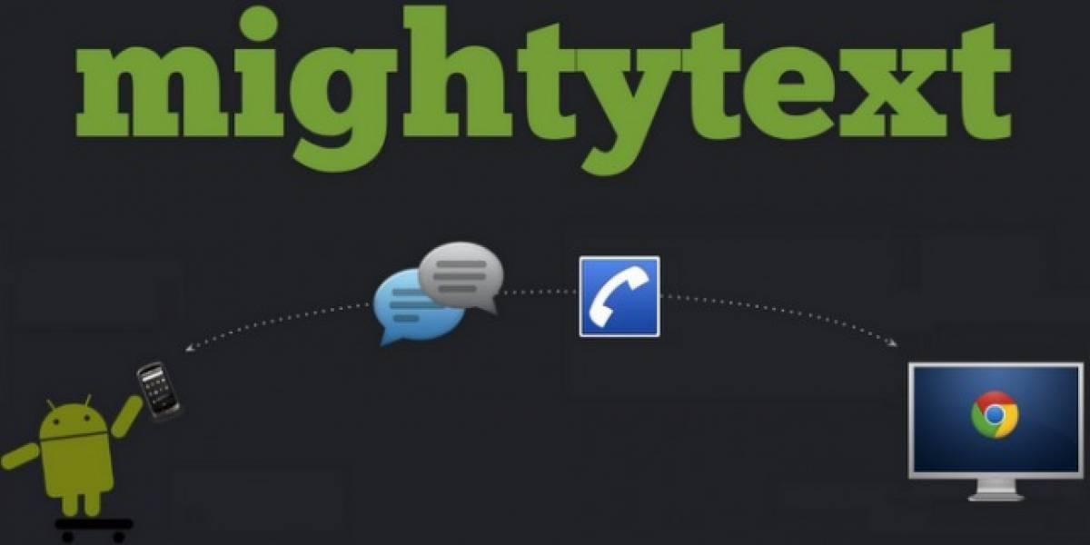Mighty Text, algo así como un iMessage para Android que te solucionará varios problemas