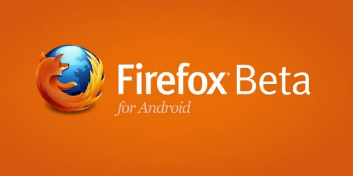 Firefox 17 Beta llega a Android