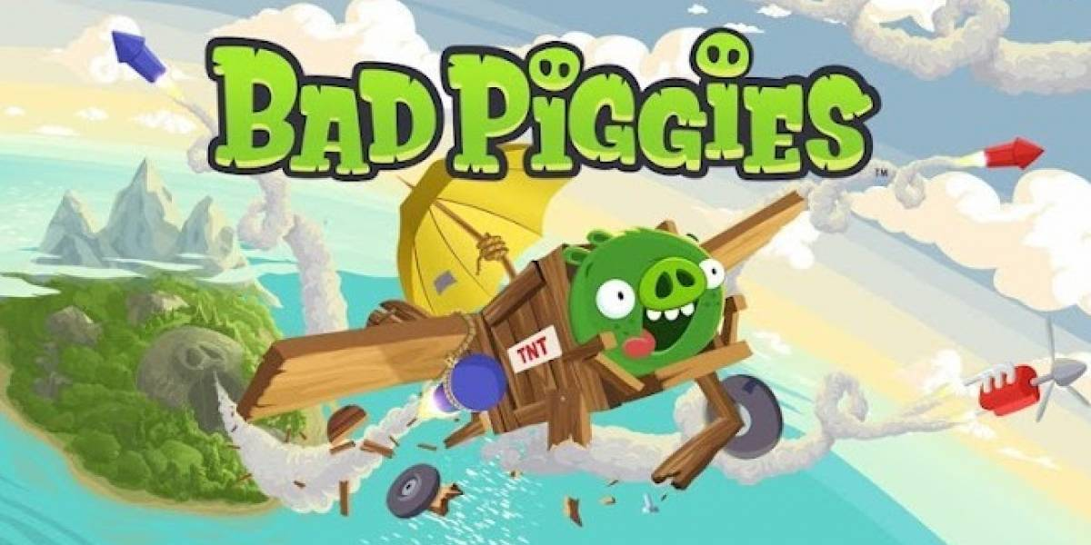 Bad Piggies, lo nuevo de Rovio ya está disponible para Android