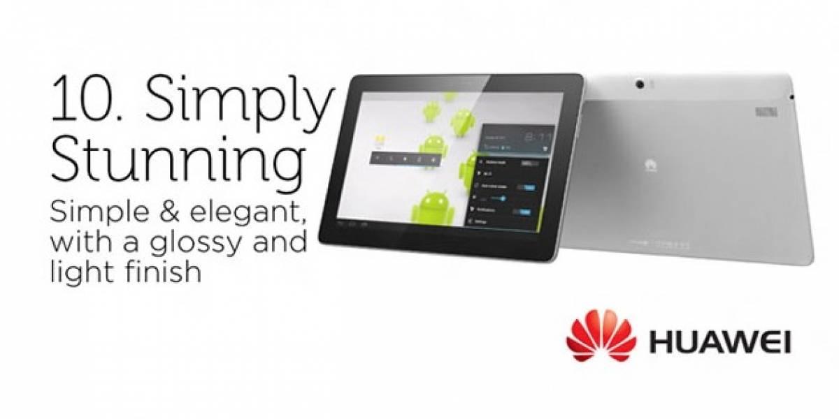 10 razones por las cuales el Huawei MediaPad 10 FHD es el tablet perfecto