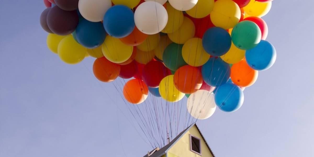 """La casa voladora de """"Up"""" ya es una realidad (y vuela en serio)"""
