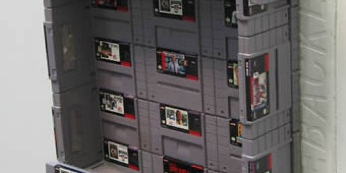 En honor a mi infancia, jamás utilizaría un urinario de cartridges de SNES
