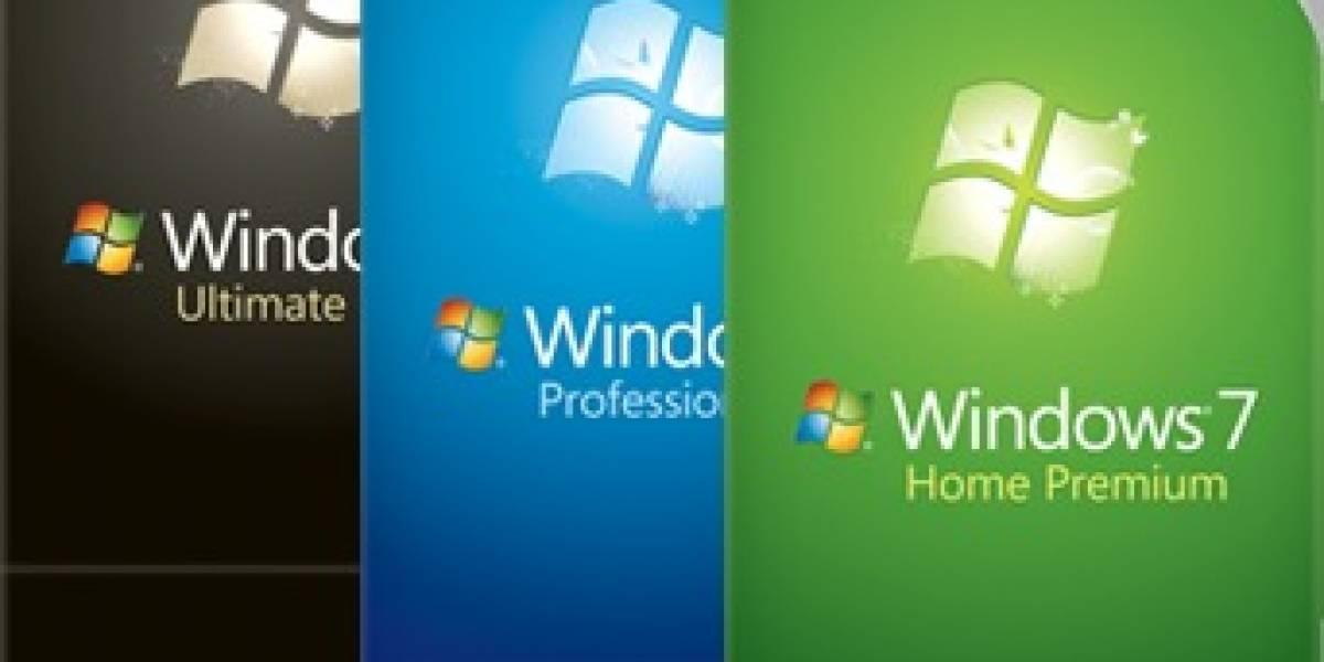 Las cajas de Windows 7 se hacen oficiales