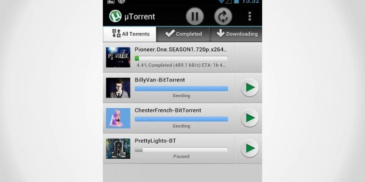 uTorrent para Android ahora tiene opción para funcionar sólo con WiFi