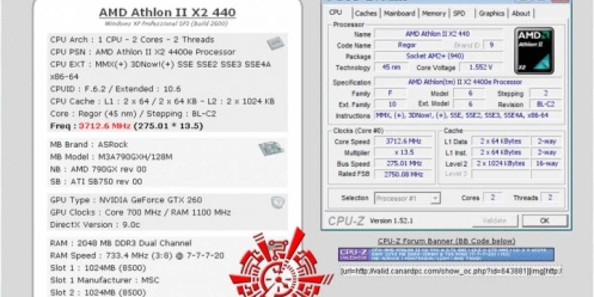 Sempron 140 @ Athlon II X2 440
