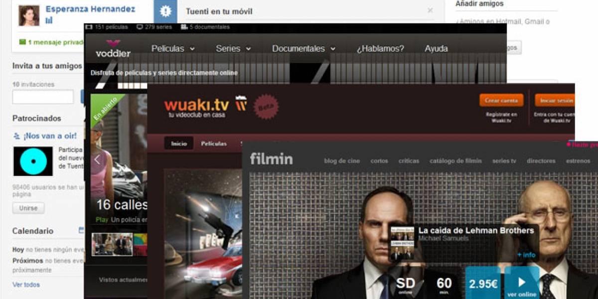 España: TuentiCine, el videoclub en línea de Tuenti, arranca pruebas hoy