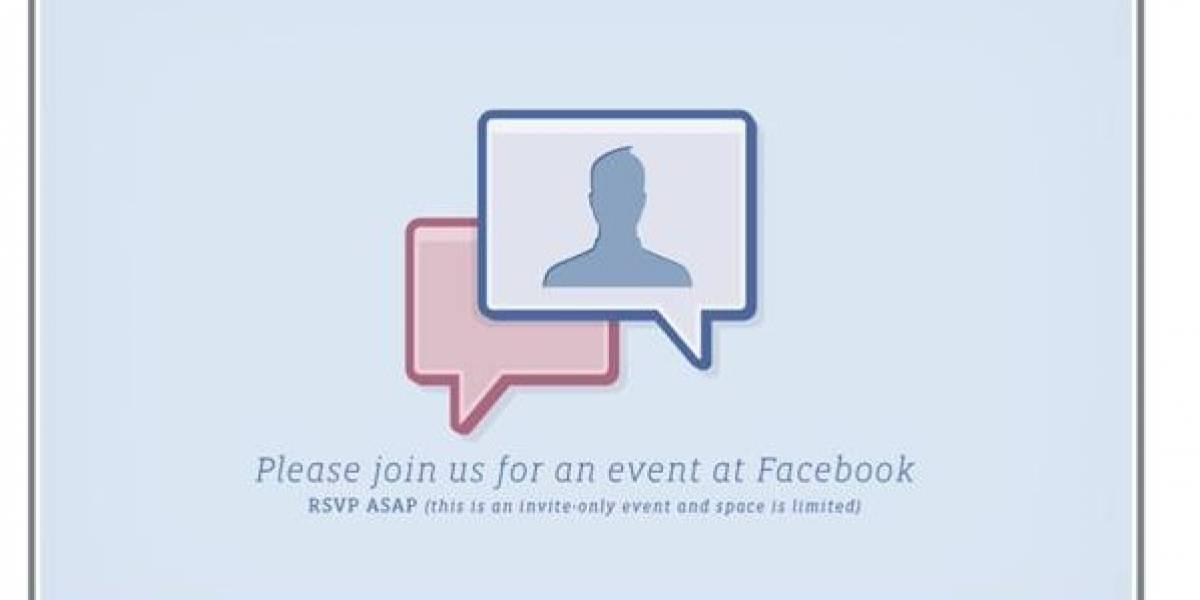 El anuncio de Facebook de la próxima semana es... ¡videochat!