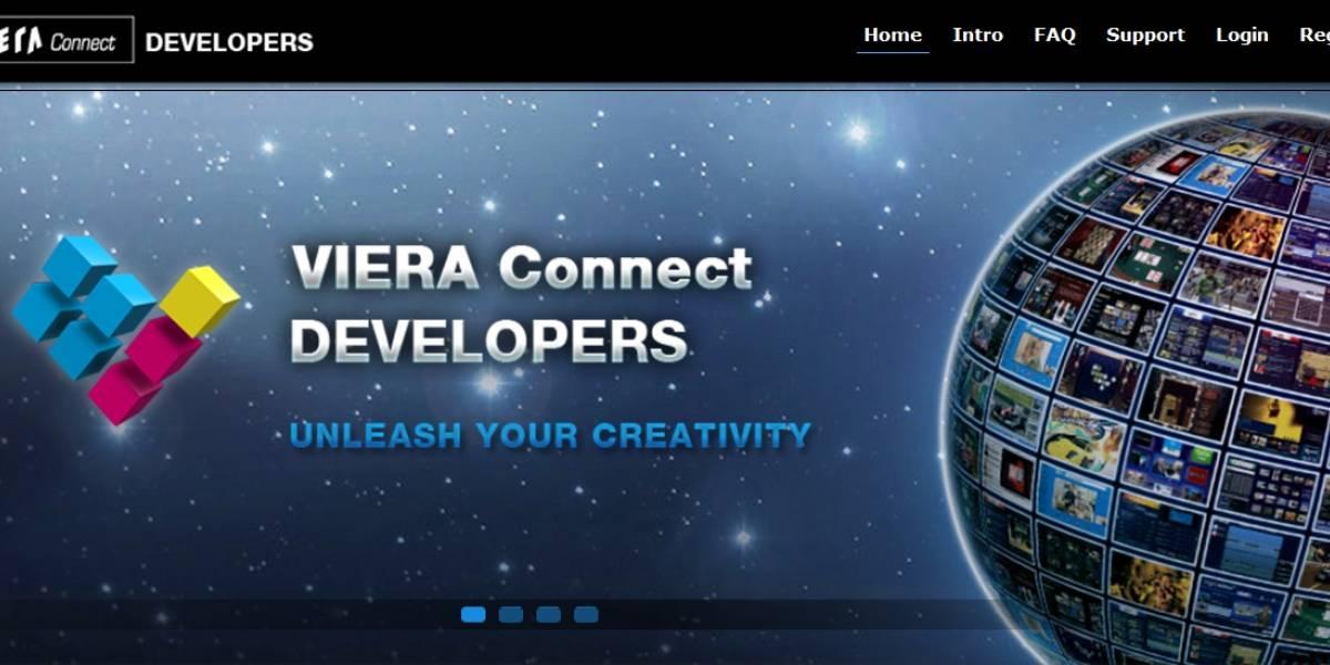 Panasonic abre un portal para desarrolladores de apps en la plataforma Viera Connect
