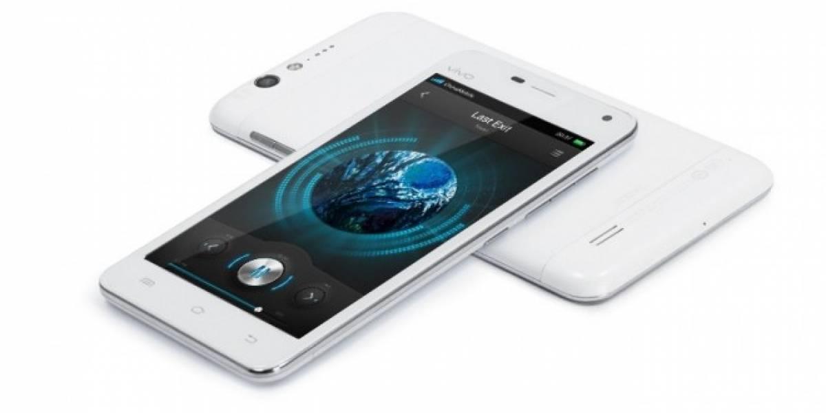 Un teléfono para fans del audio premium: BBK Vivo X1