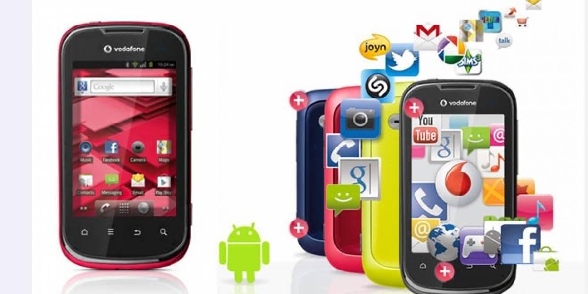 Llega a España el Vodafone Smart II