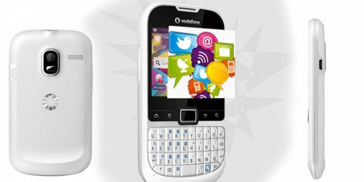 Vodafone Smart Chat: Un prepago con Android y teclado Qwerty que llega a España