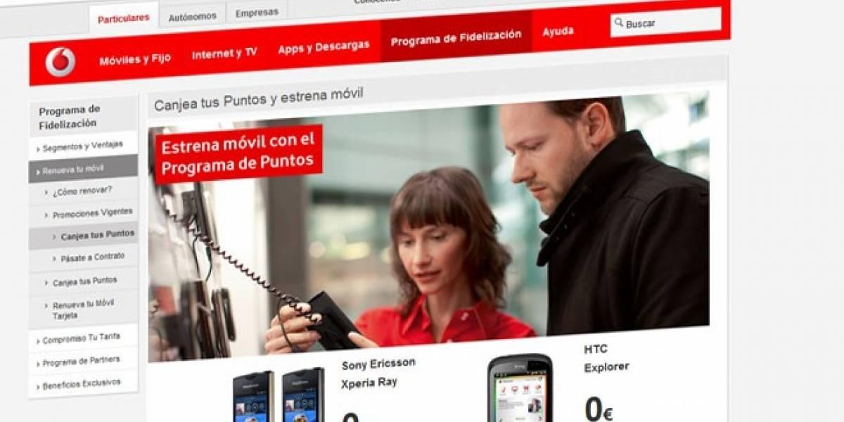 España: Vodafone también deja de subvencionar terminales