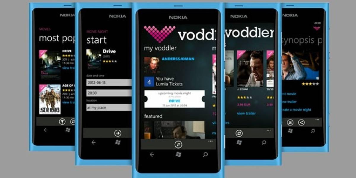 Voddler lanza aplicación de video para los Nokia Lumia en España