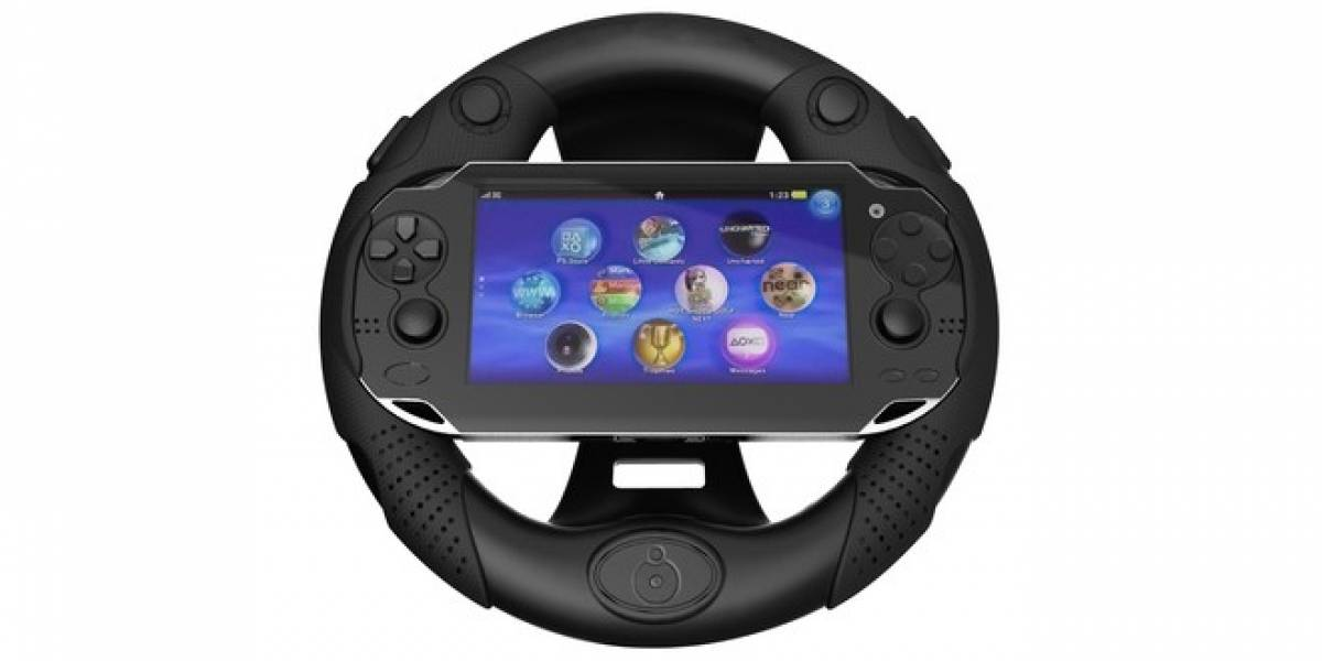 Drive Support es el primer volante para la PlayStation Vita