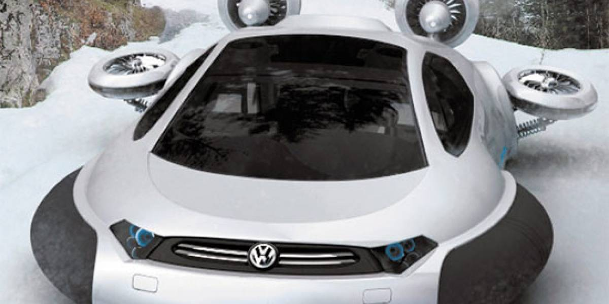 Volkswagen Aqua, un hovercraft digno de James Bond