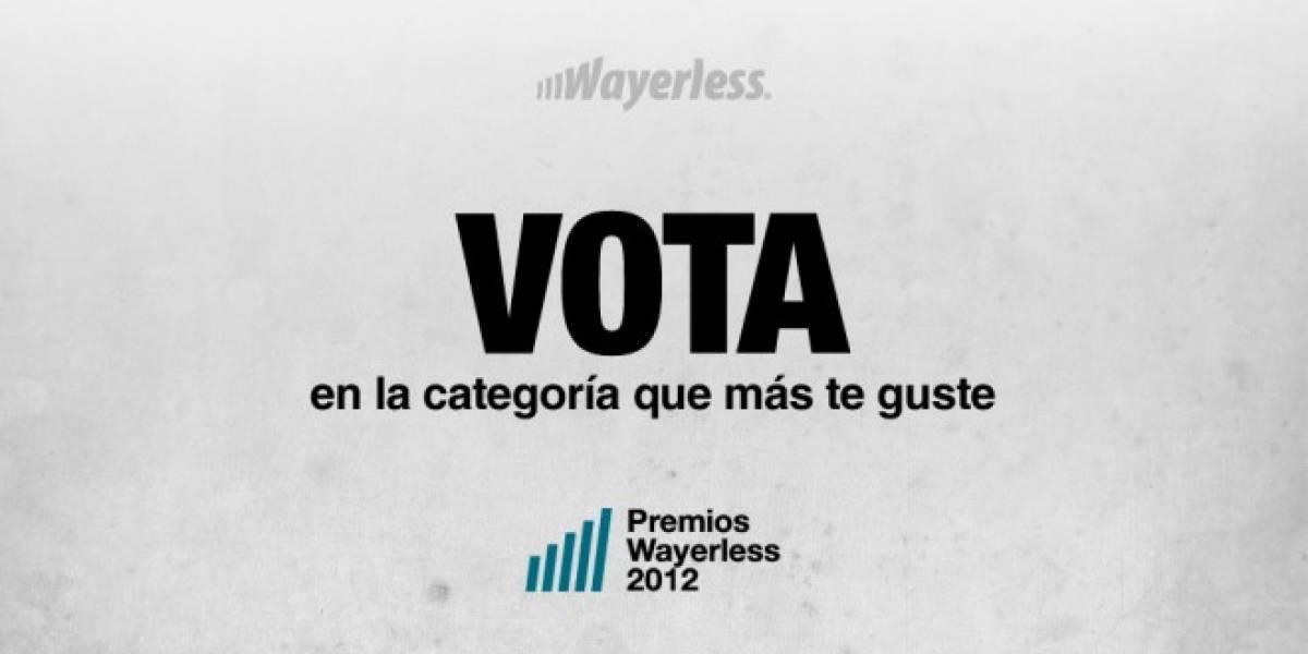 ¡Recuerda nominar y votar por tus favoritos en los aWards 2012!