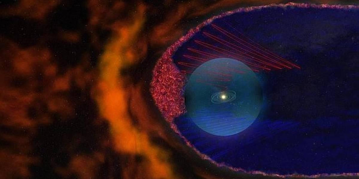 Sondas Voyager se encuentran con un mar de burbujas a la salida del sistema solar