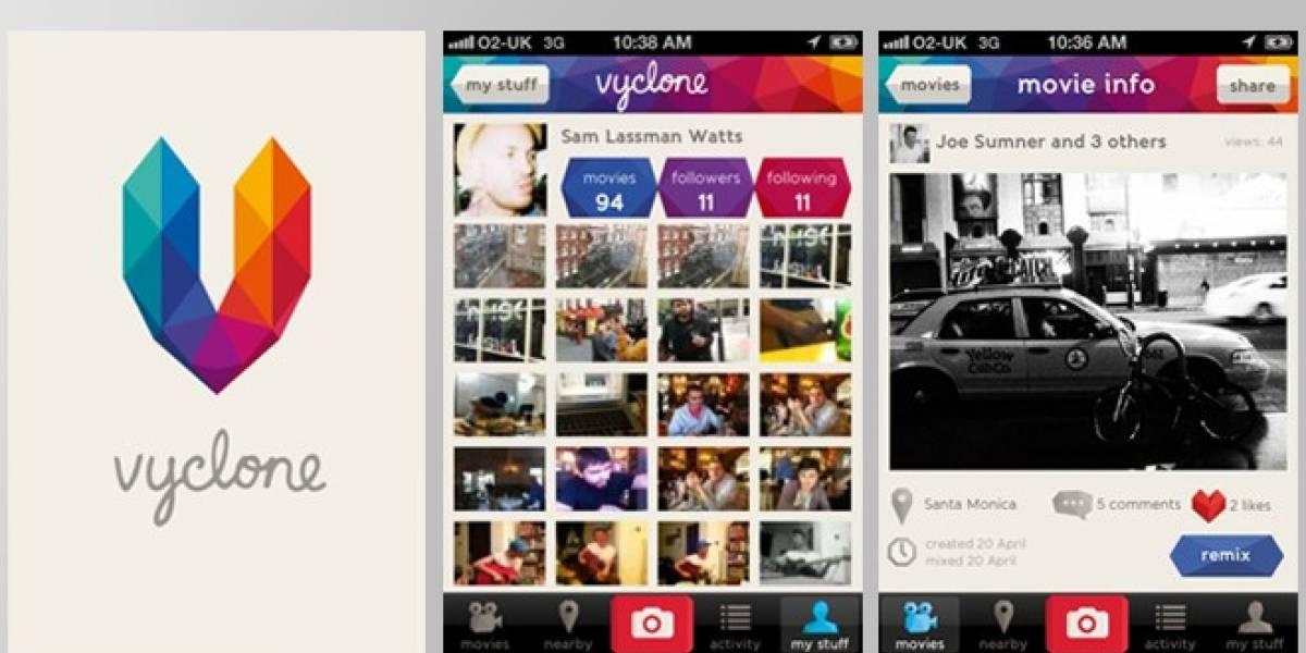 Reino Unido: Vyclone, grabar y crear pistas de vídeo con el iPhone