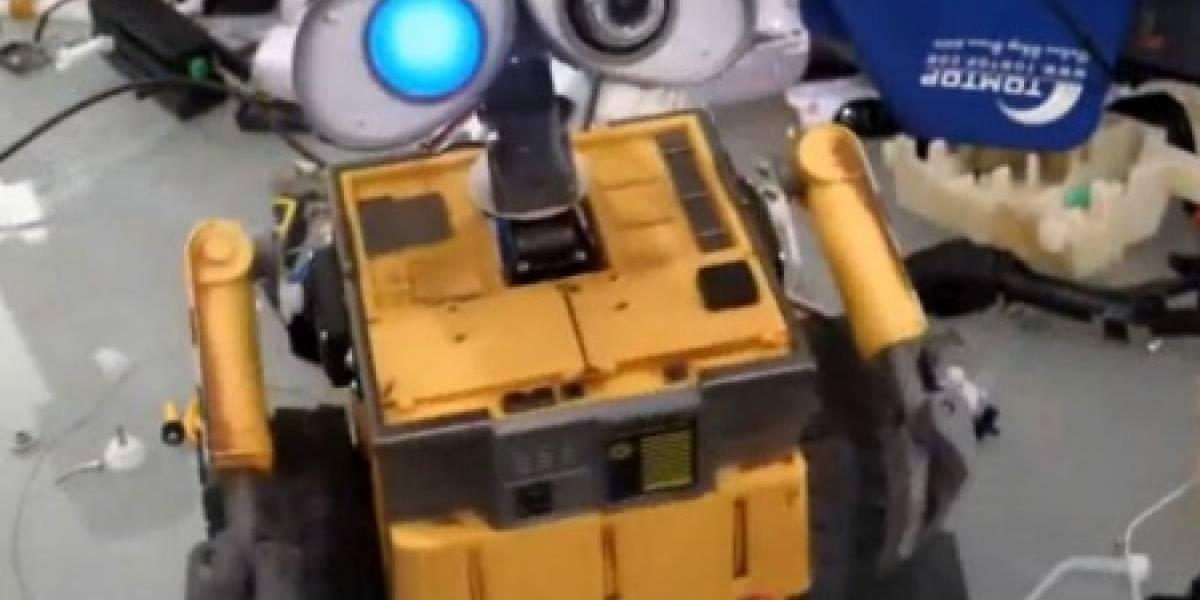Wall-E se convierte en un robot de verdad