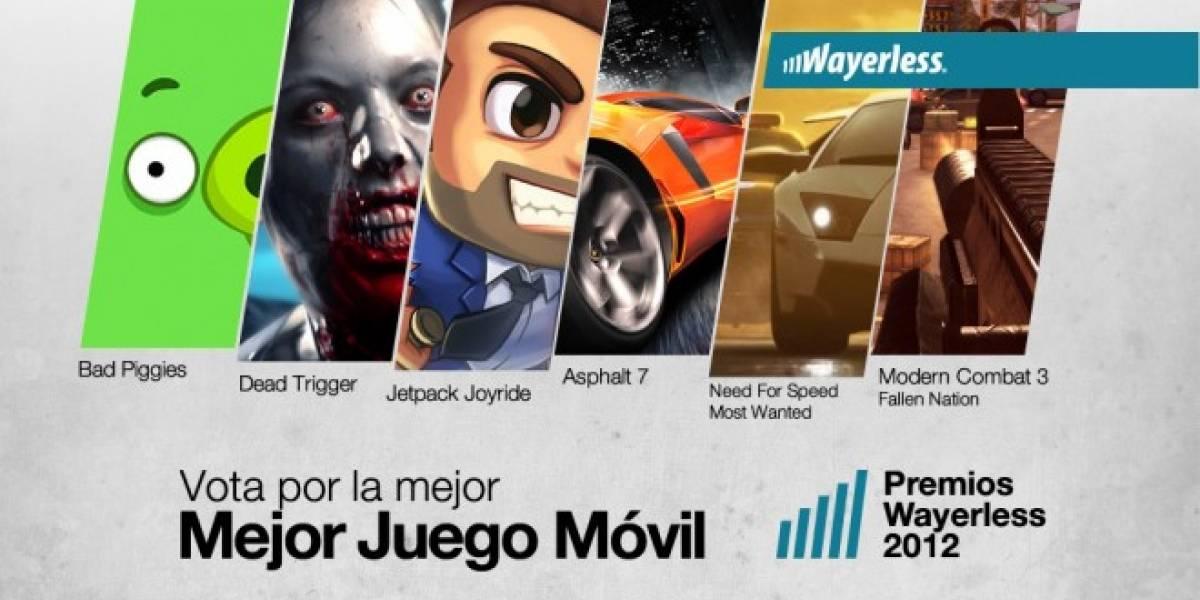 Vota por el Mejor Juego Móvil 2012