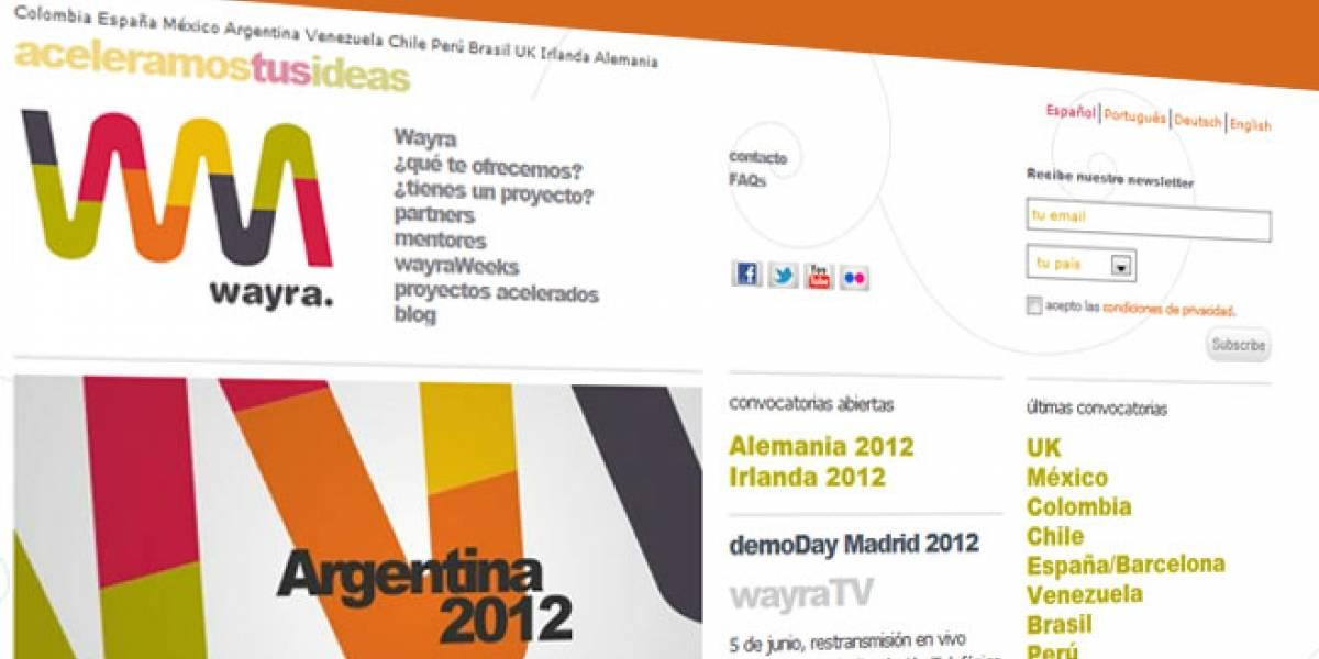 Las primeras diez startups aceleradas por Wayra en España salen al mercado