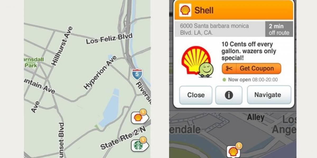 Waze venderá publicidad dentro de sus mapas