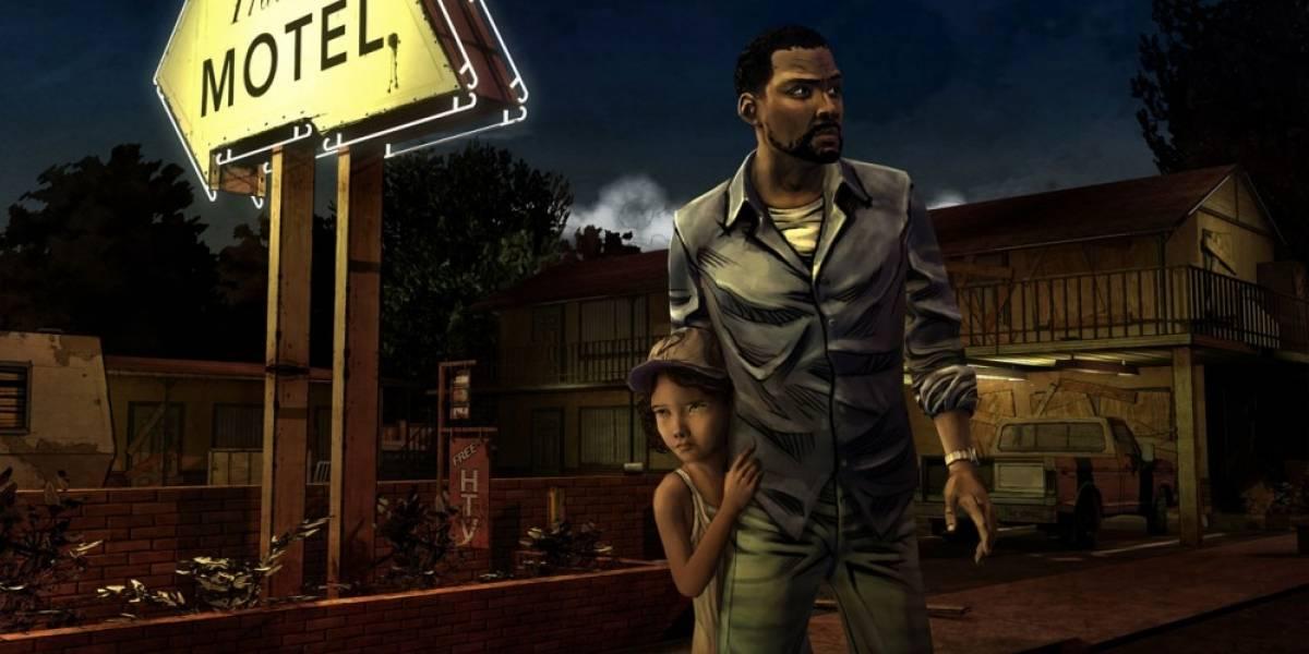 Esta es la primera imagen del juego de The Walking Dead