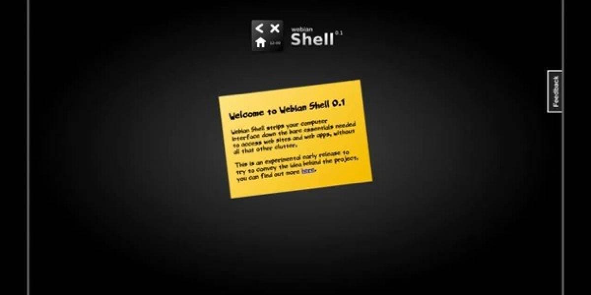"""Mozilla Labs lanza """"Webian Shell"""", ¿un competidor para Chrome OS?"""