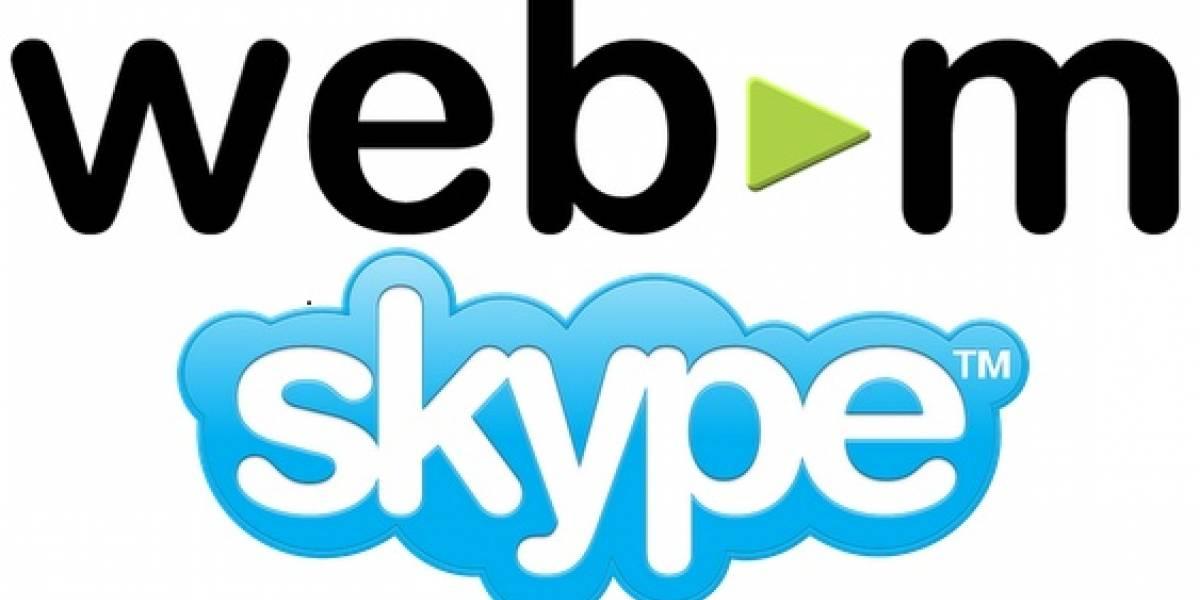 Skype adopta el códec VP8, aún con las quejas de patentes de Microsoft