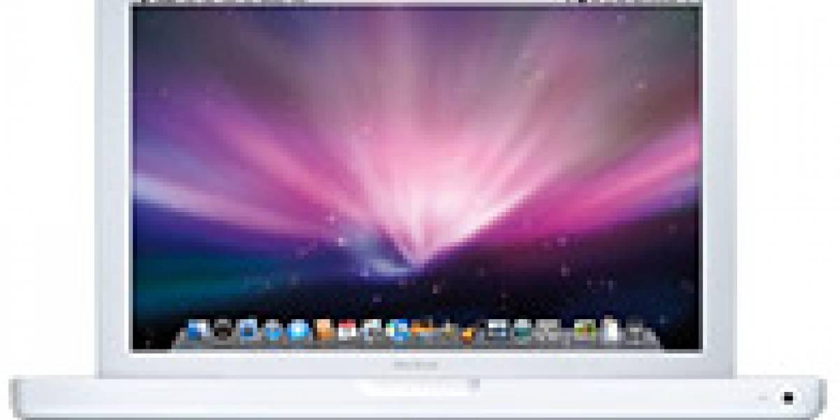 MacBook blanco se actualiza
