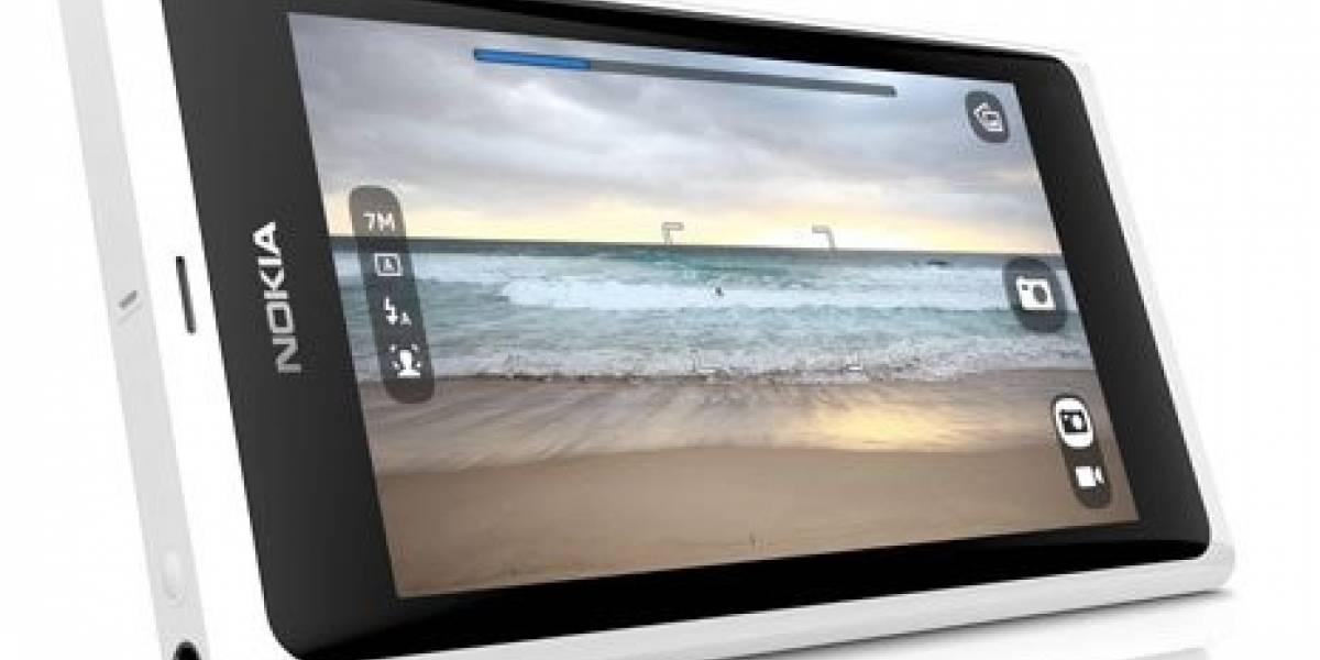 Nokia muestra un N9 blanco en el Nokia World
