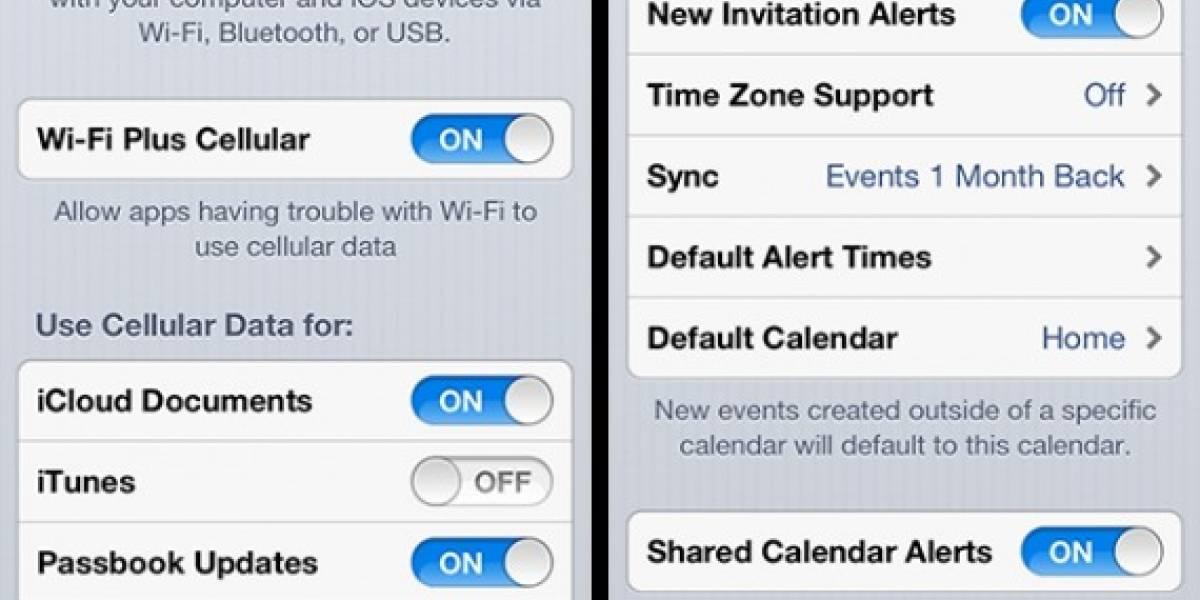 iOS 6 incluye función para usar Wi-Fi y mantener activos los datos móviles