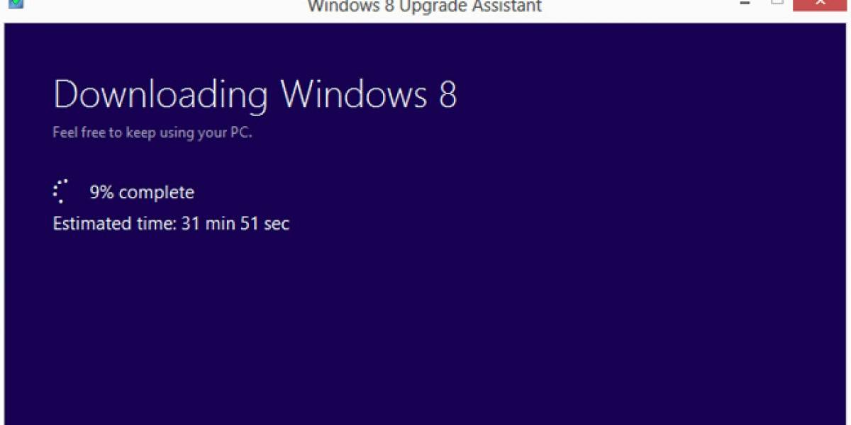 Actualización a Windows 8 Pro costará USD$40