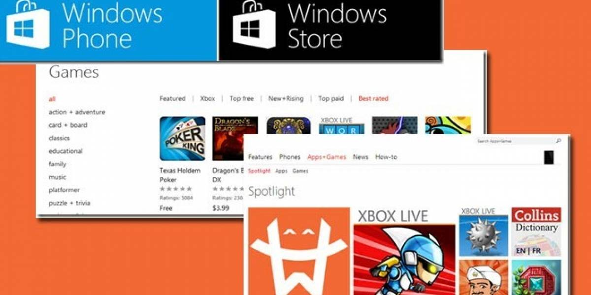 El Marketplace de Microsoft se rediseña y pasa a llamarse Windows Phone Store
