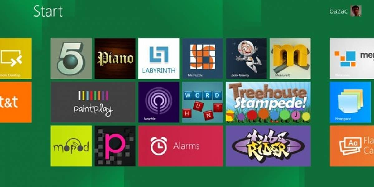Se anuncian los primeros juegos para la store de Windows 8