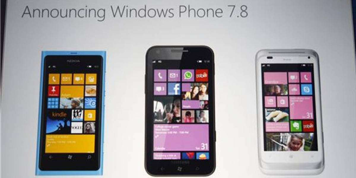Windows Phone 7.8 llegará definitivamente a principios del año 2013
