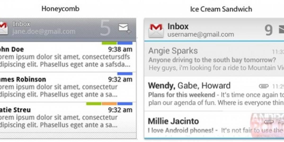 Widgets de Android Ice Cream Sandwich se filtran antes del lanzamiento