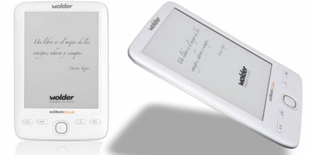 La española Wolder presume de lanzar el e-reader más ligero del mercado