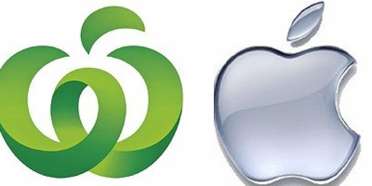 Apple demandó a empresa australiana por usar una manzana