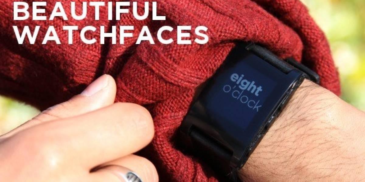 Pebble, el reloj para móviles que reunió un millón de dólares en Kickstarter