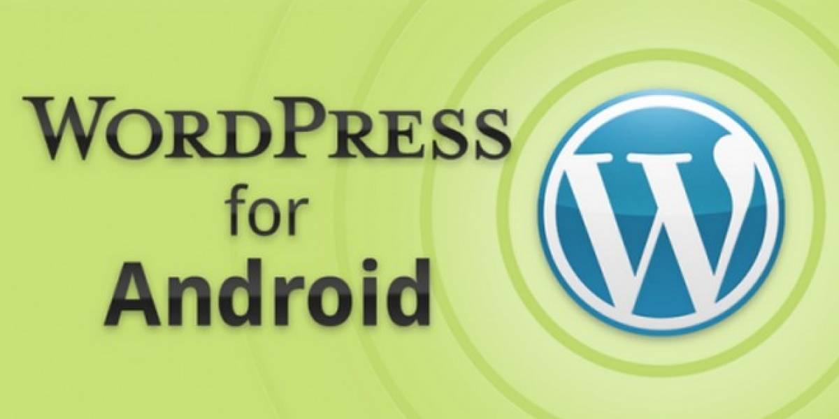 Beta 2.1 de WordPress para Android ya lista para probarse