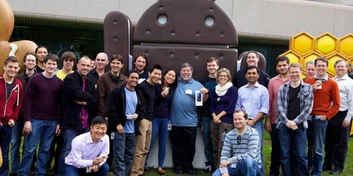 Steve Wozniak ya tiene el Samsung Galaxy Nexus que tú quieres