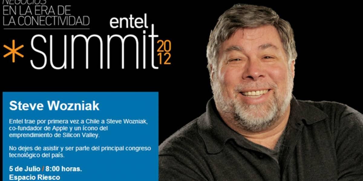 Chile: Steve Wozniak participará en un seminario de Entel