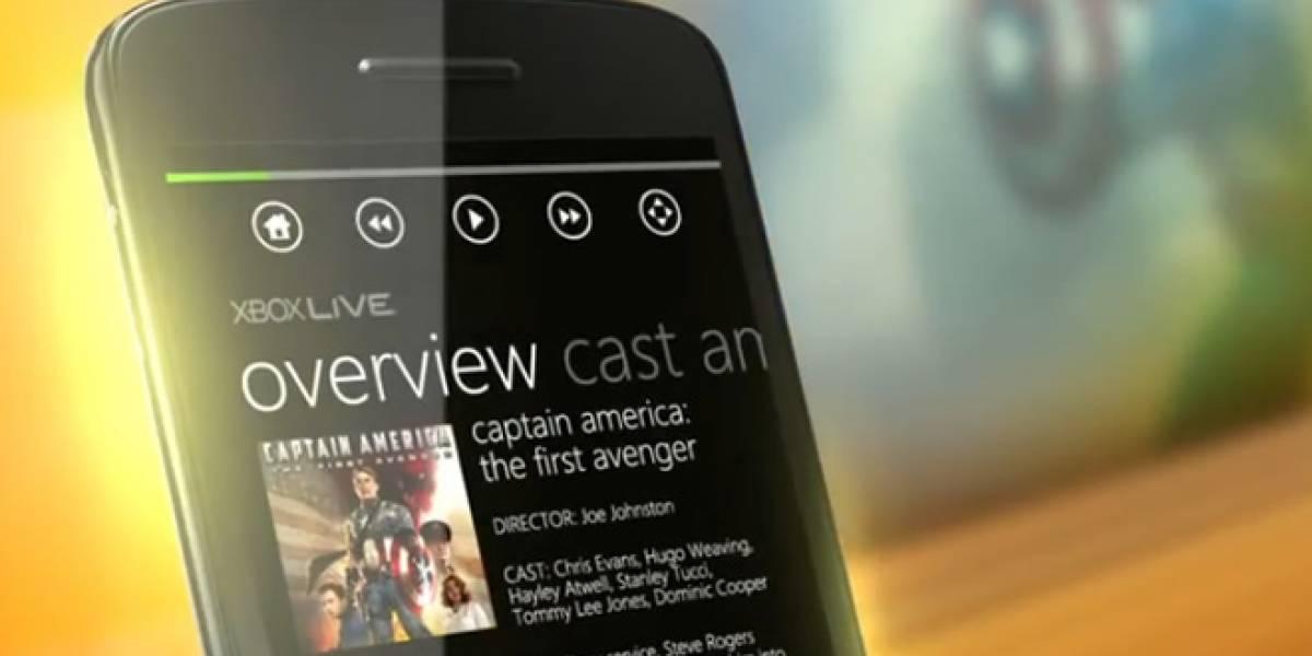 Se lanza Xbox Companion para Windows Phone 7