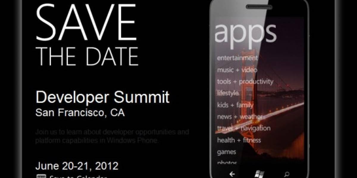 Microsoft anuncia junta de desarrolladores para Windows Phone en junio